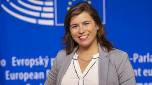 Sara CERDAS in the EP in Brussels